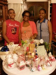 Onik Reynolds, her children and her 'Kreations'