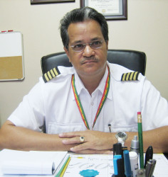 Roraima Airways CEO  Gerry Gouveia