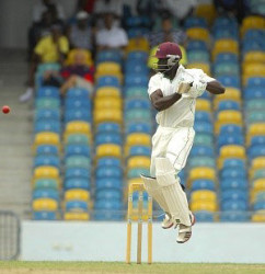 Andre Fletcher's 63 steered Volcanoes out of trouble.