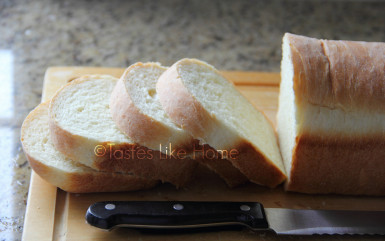 Standard (regular white) bread (Photo by Cynthia Nelson)