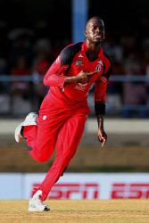 Trinidadian all-rounder Kevon Cooper … picked up four wickets to restrict Rangpur Riders. (file photo)