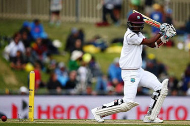 Opener Kraigg Brathwaite … aiming to extend good form in Melbourne Test.