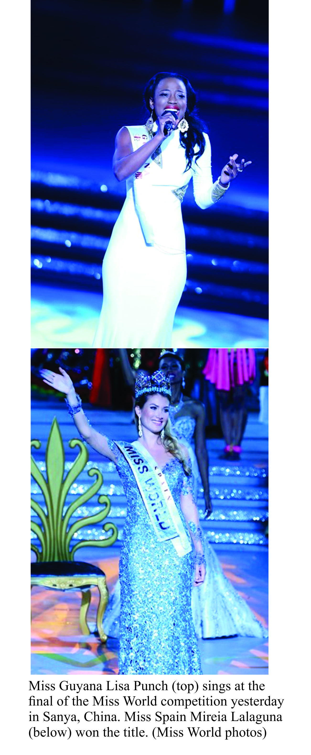 Miss Guyana Lisa Punch ends Miss World bid in top ten
