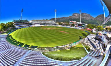 The Kings Mead Cricket Ground in Durban above is the venue for the first test between hosts South Africa and England commencing Boxing Day.