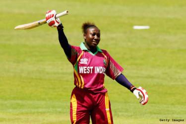 West Indies Women's captain Stafanie Taylor .