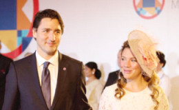 Justin Trudeau and Sophie Gregoire