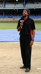 Trinidadian journalist Fazeer Mohammed