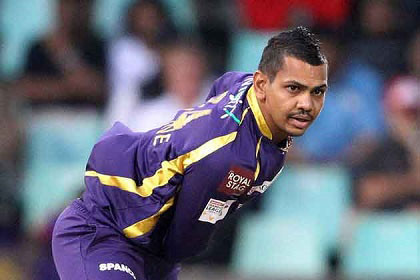 Narine has been consistently questioned about his bowling action.