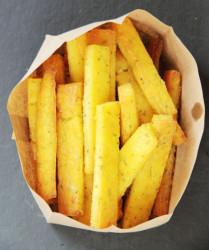 Polenta/Cornmeal Fries (Photo by Cynthia Nelson)