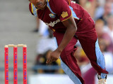 Former West Indies left-arm seamer Krishmar Santokie claimed a beaver-trick yesterday albeit in a losing cause.