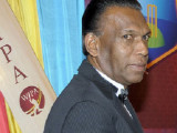 "Current Jamaica Cricket Association president, Wilford ""Billy"" Heaven."