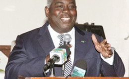 Bahamas Deputy Prime Minister Phillip Davis