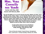 Mrs. Vera Connelly nee Yard