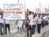 Participants in the March (GINA photo)