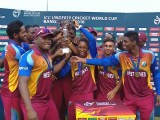 The victorious West Indian team (ICC photo)