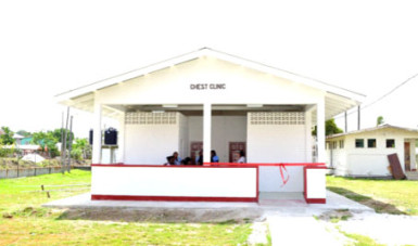 The newly commissioned Chest Clinic at the hospital(GINA photo)