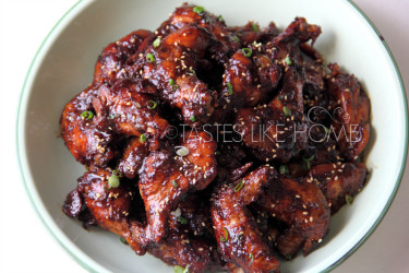 Spicy Asian Wings  Photo by Cynthia Nelson