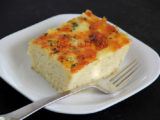Cut Macaroni Pie (Photo by Cynthia Nelson)