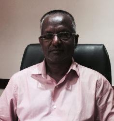 New Central Corentyne Chamber President Rafeek Mohammed