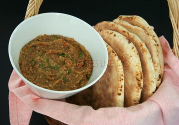 Biagan Choka and Sada Roti (Photo by Cynthia Nelson)