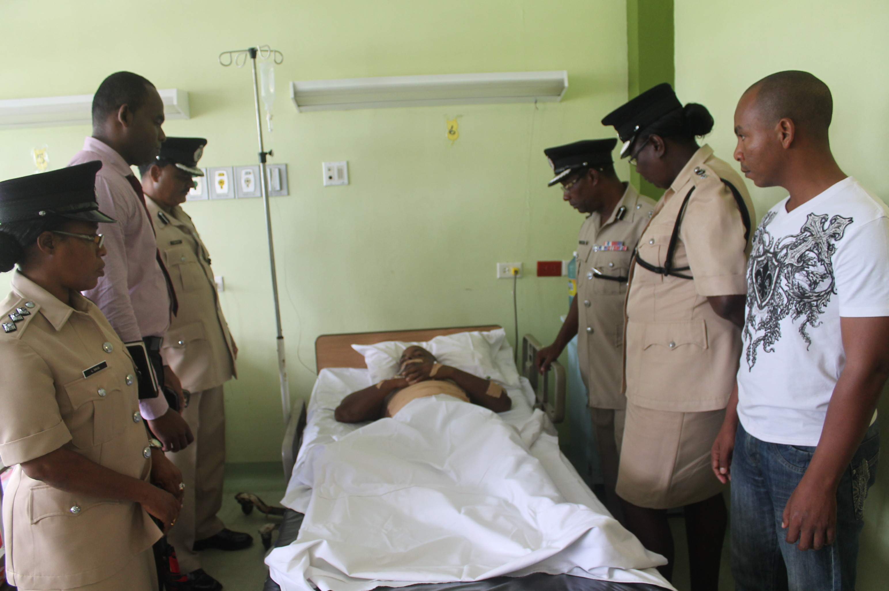 policeman visit