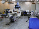 The cardiac catheterization lab