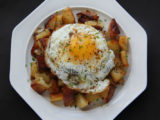 Breakfast Potatoes with Medium Fried Egg (Photo by Cynthia Nelson)