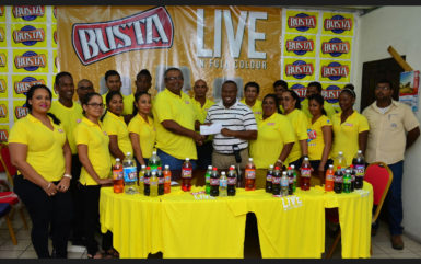 Beverage Company support for Soft Shoe football tourney