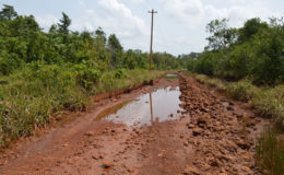 The previously deplorable Barabina road (GINA photo)