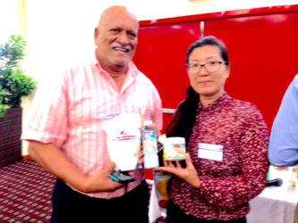 Beni Sankar and May Cheung