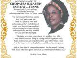 Cleopatra Barlow nee Frank