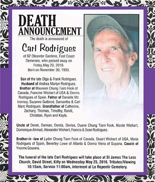 Carl Rodrigues