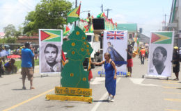 A depiction of Guyana's political history.