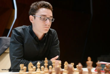 Ranked within the top ten of the chess world, US grandmaster Fabiano Caruana (in photo) leads the rigorous Vugar Gashimov Memorial Tournament in Azerbaijan. The tournament ends today