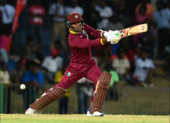 Marlon Samuels played a gem of an innings to help the West Indies record a four-wicket win over Australia yesterday.