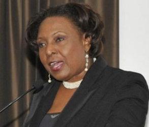 Sports Minister Olivia Grange