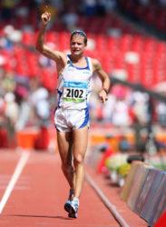 Former Olympic race walk champion Italy's  Alex Schwazer