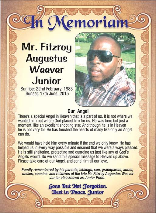Fitzroy Weever Junior