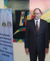 Caricom Secretary-General Irwin La Rocque