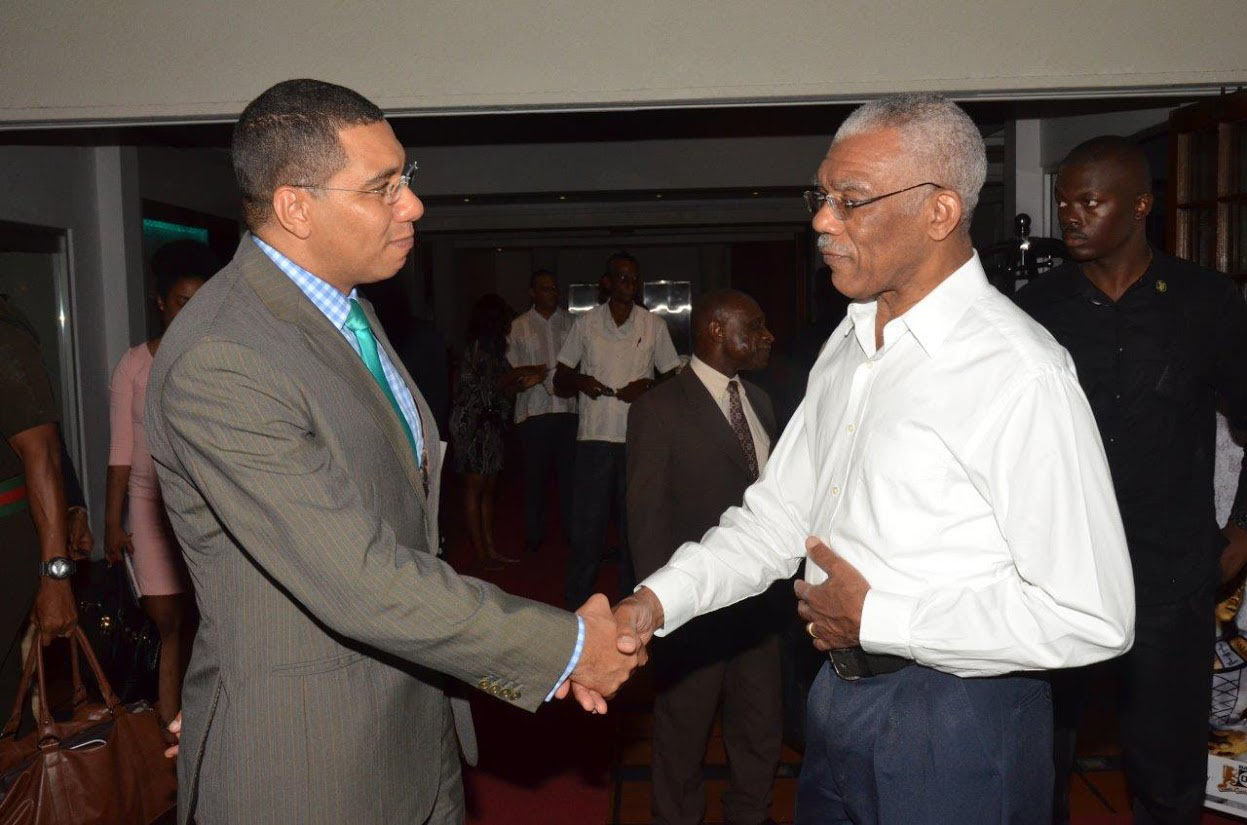 Guyana Jamaica Explore Strengthened Trade Ties Stabroek News