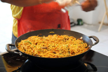 Chef Al's Beef Chowmein (Photo by Cynthia Nelson)