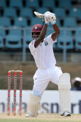 West Indies batsman Jermaine Blackwood.