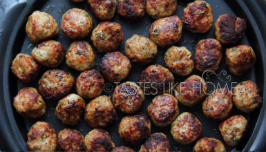 Pork Meatballs - meatballs are highly adaptable and can be made with different meats and a variety of herbs and spices for flavour. (Photo by Cynthia Nelson)