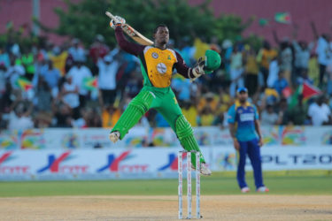 Jason Mohammed is overjoyed as the Guyana Amazon Warriorsdefeat the Barbados Tridents to move to the top of the point's standings.