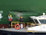 Damage to the MV Xin Fei Zhou