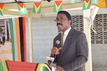Attorney General Basil Williams (GINA photo)