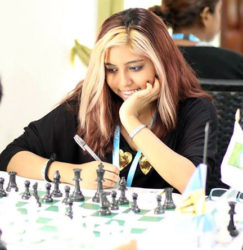 Representing Guyana at the 2016 Chess Olympiad in Baku, Azerbaijan, is Jessica Clementson, 20, founder of the Georgetown-based U-Knighted Chess Club. The U-Knighted Chess Club has its origins in the School of the Nations where she was a student. Clementson learnt to play the game in 2009, and has experience teaching chess to underprivileged kids in the Albouystown area. She represented Guyana at the Inter-Guiana Games and the School of the Nations in the National Inter-Schools Championships.