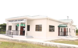 The newly commissioned $26.5 million Student Loan Agency, located at the University of Guyana Turkeyen's campus