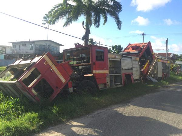 West Ruimveldt Residents Want Derelict Fire Trucks Moved