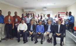 Government and private sector functionaries at Wednesday's seminar with Starr Computers and Lenovo officials